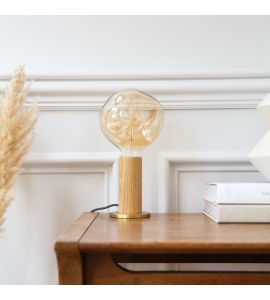 Tala Oak Knuckle Table Lamp