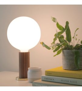 Tala Walnut Knuckle Table Lamp