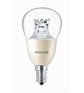 E14 LED Philips Master DT Tropfenform 8W dimmbar