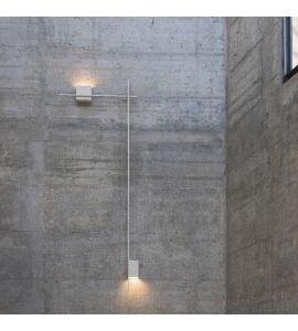 Structural Wandleuchte hellgrau  - Schauraum Sale