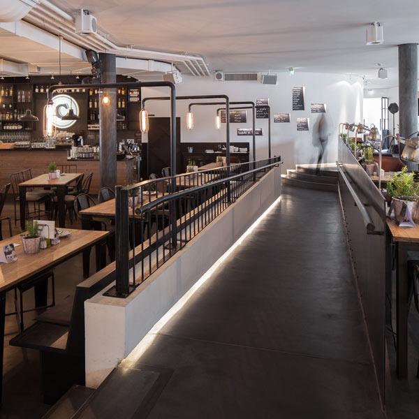 Leuchten- und Licht-Design im Restaurant